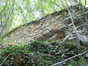 Останките от крепостта
