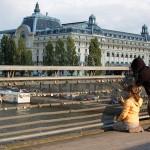 Париж, Музей Орсе и мостът