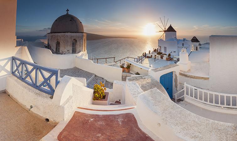 Санторини, Гърция
