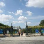 """Входът на Ботаническата градина откъм улица """"Бюфон"""""""