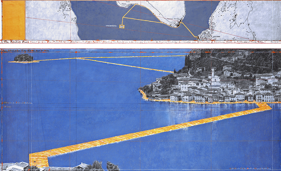 The Floating Piers фщ Christo