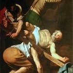 Разпятие на Христос от Караваджо в Мария дел Пополо