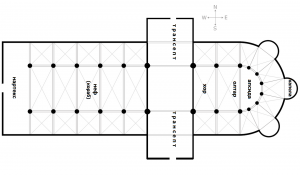 План на катедрала