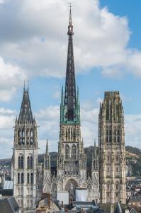 Катедралата в Руан. Сн. Даниел Ворндран