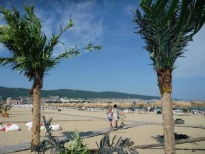 Слънчев бряг. Плаж.