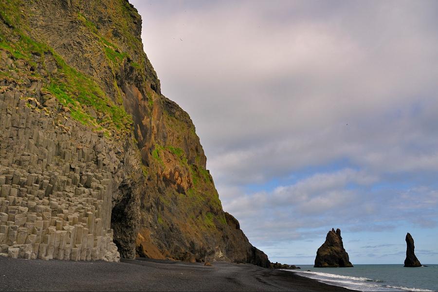 Черният плаж в Исландия