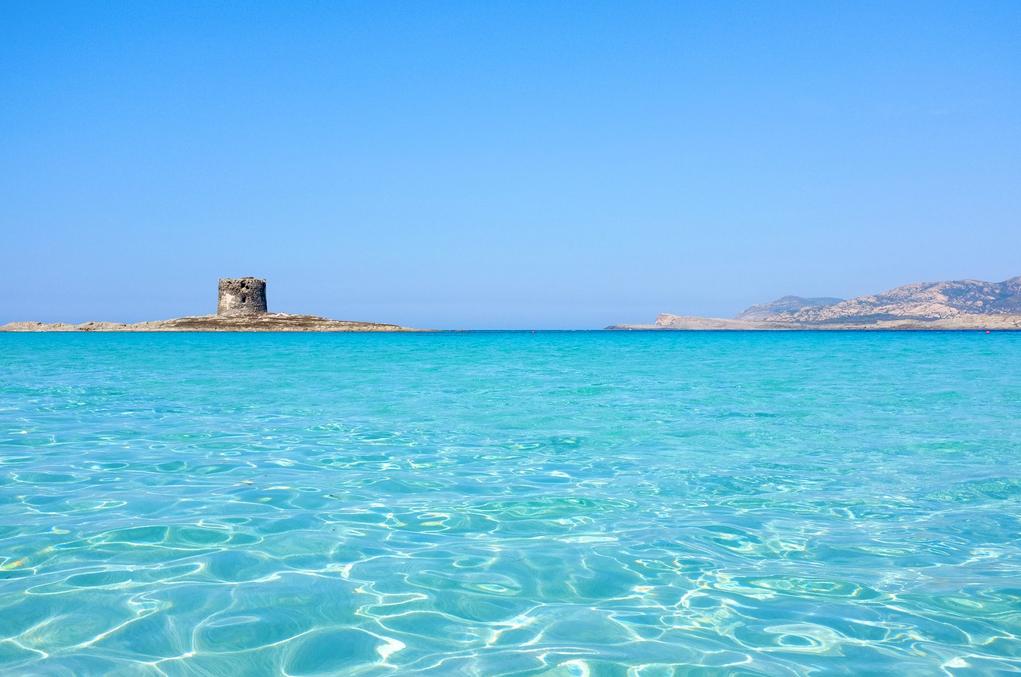 Плажът Ла Пелоса в северна Сардиния