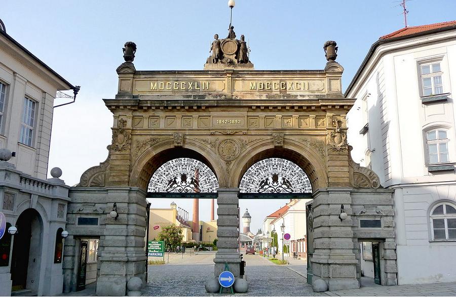 Пилзен - входът на фабриката