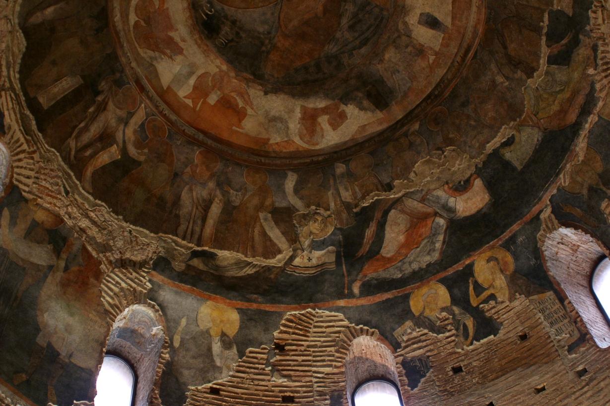 Стенописи от Първото българско царство