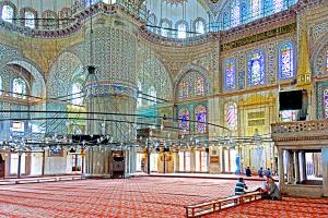 Синята джамия, фото Dennis Jarvis
