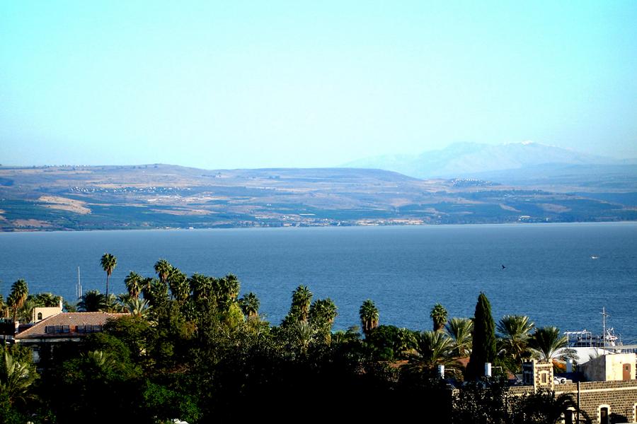Галилейското езеро. снимка:  Joe Freeman