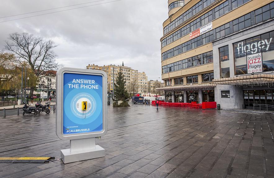 Телефон в Брюксел