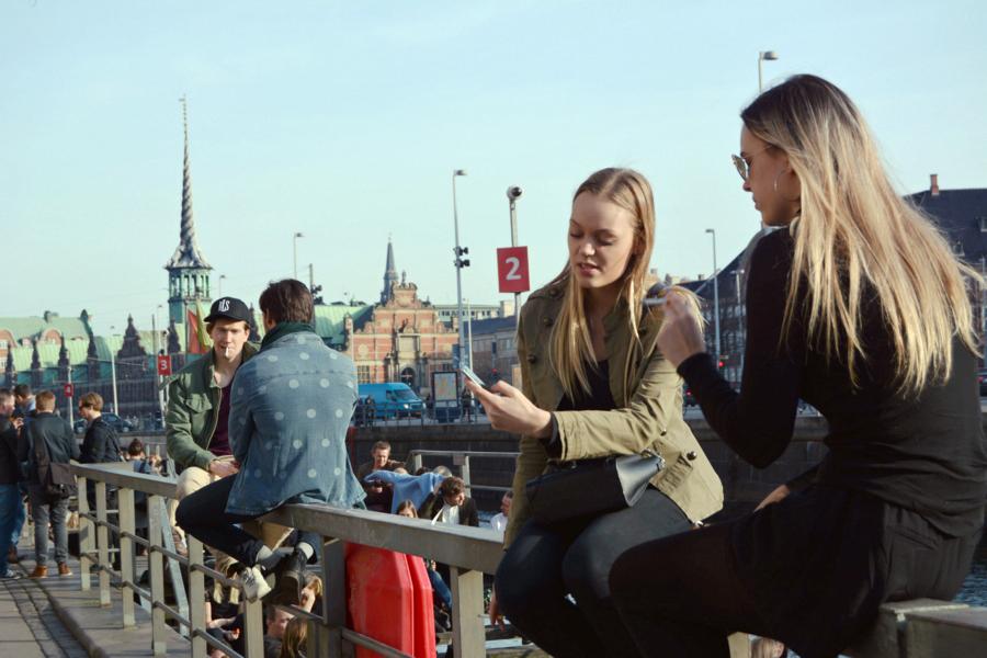 Датчаните се сбират около каналите при хубаво време