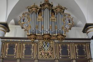 Органът в параклиса