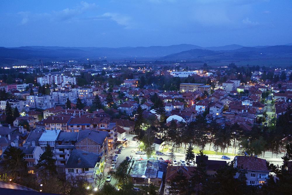 Велинград нощем