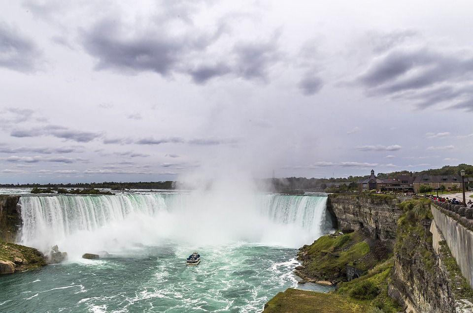 Ниагарски водопад в Онтарио, Канада