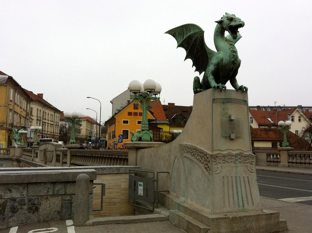 Драконов мост, Любляна