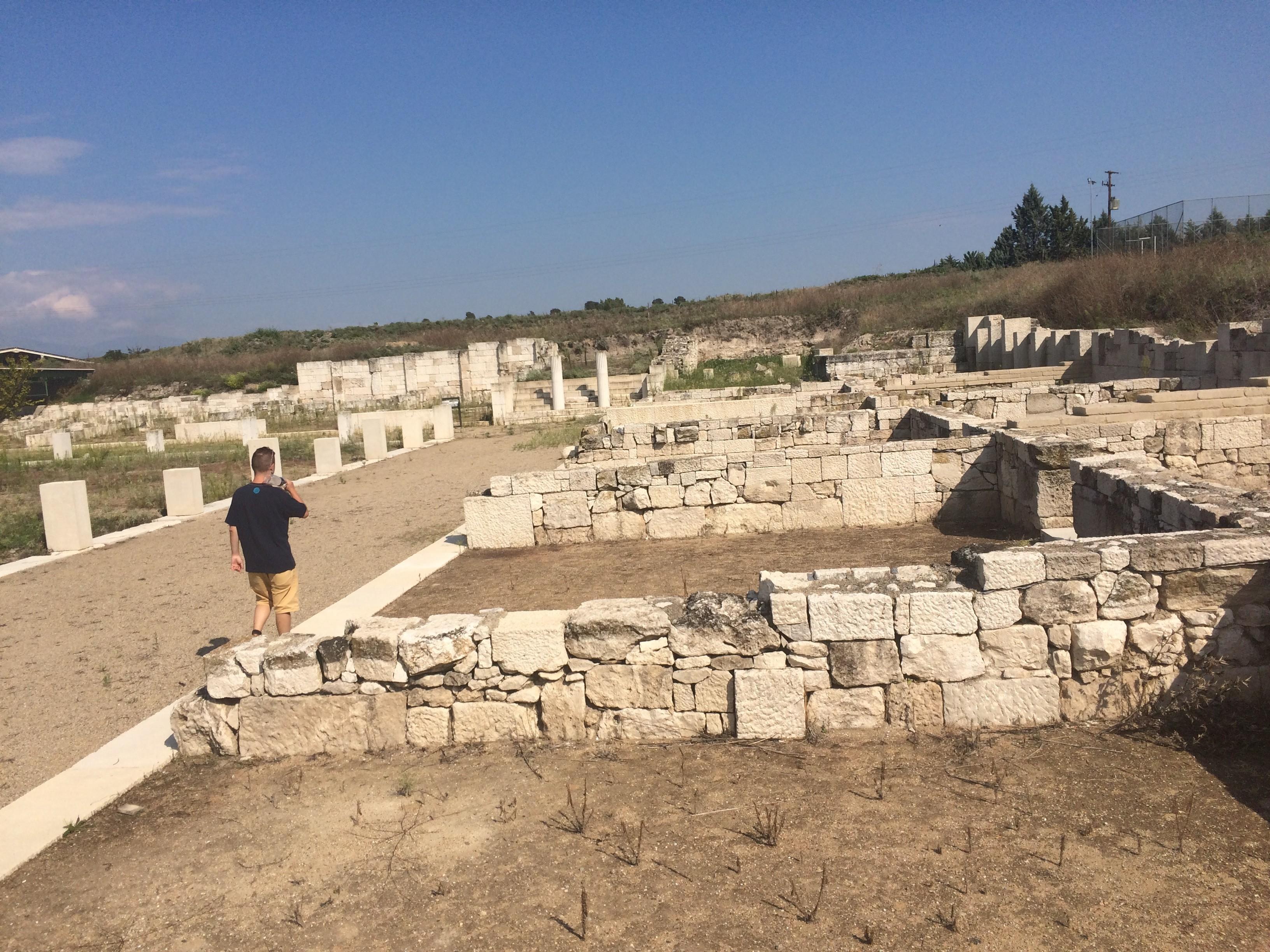 Столицата на древните македонци Пела, Гърция