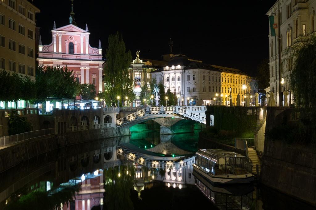 Троен мост, Любляна
