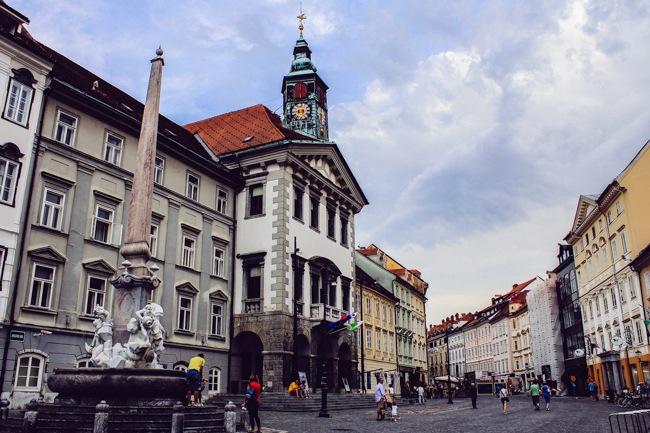 Старият град, Любляна