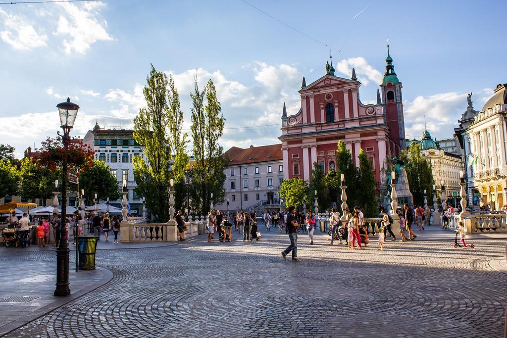 Площад Прешерен, Любляна