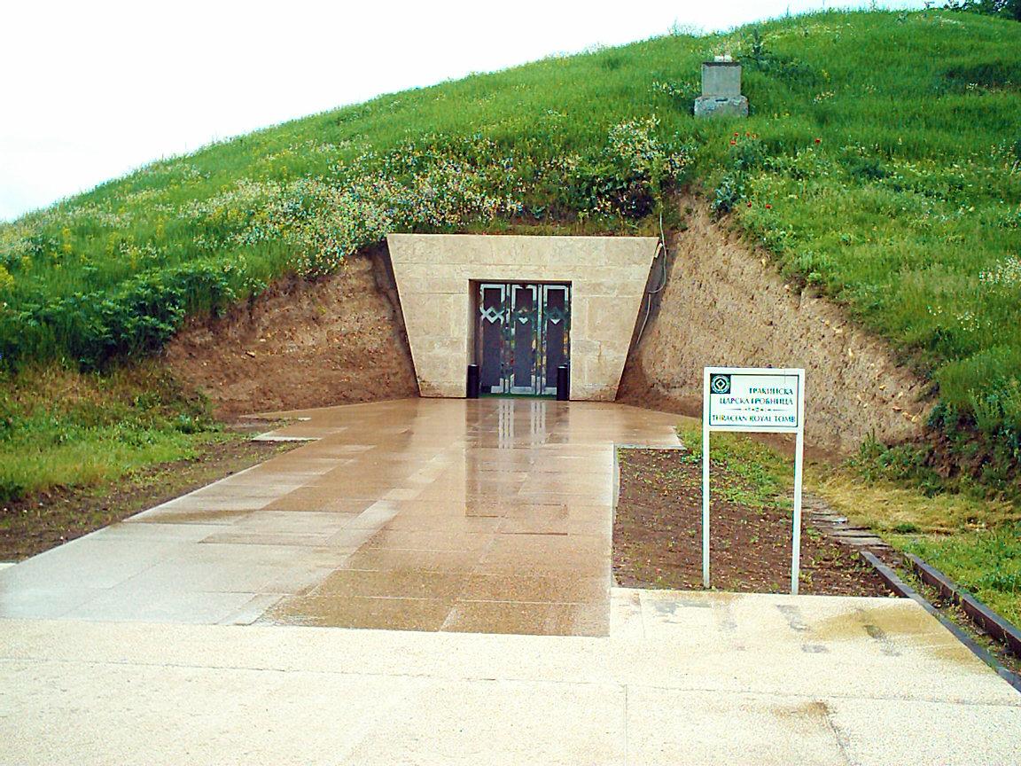 Гробнницата в Свещари.
