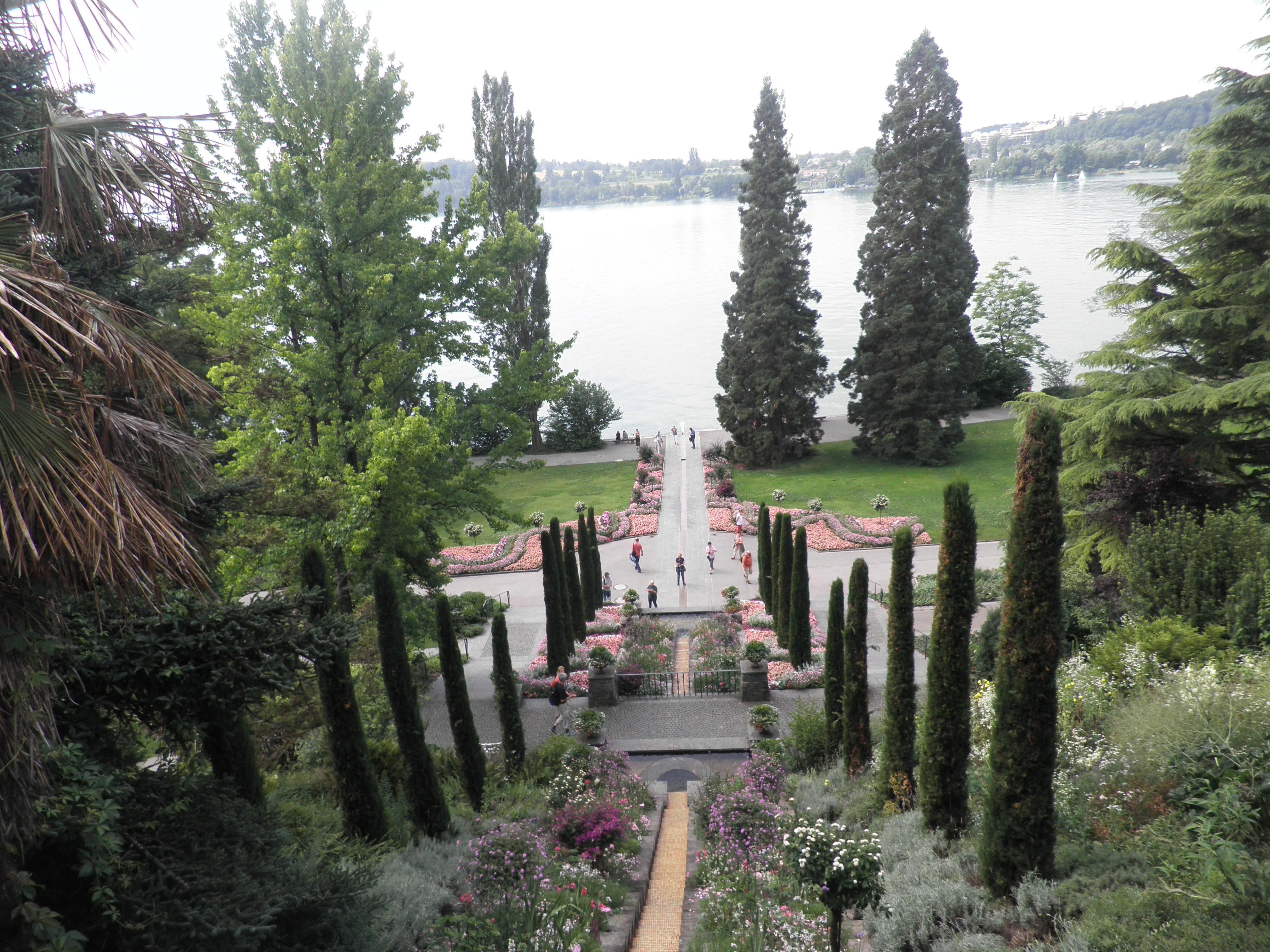 Изглед от италианската тераса