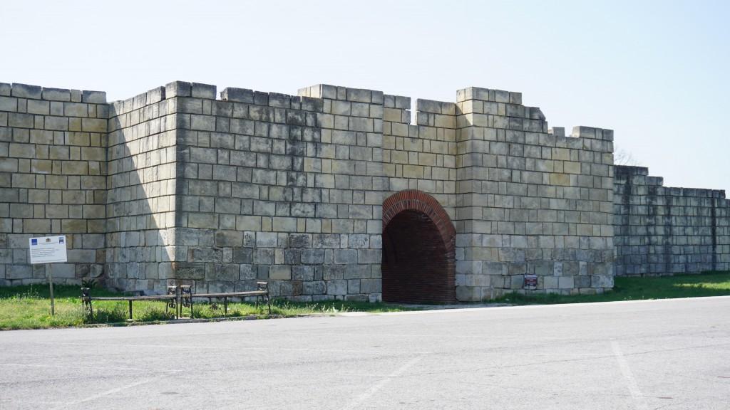 Крепостта в Плиска