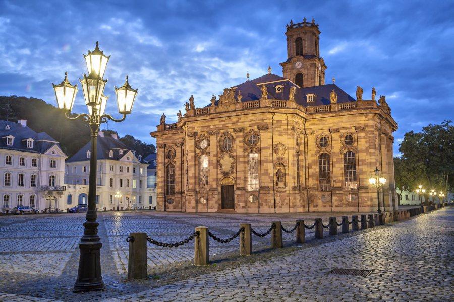 Людвихкирхе, протестнатска барокова църква в Заарбрюкен